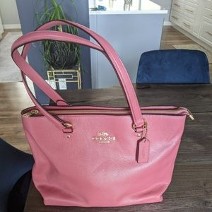 Coach Leather Tote